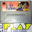 LIGHT FANTASY I 1 CARTUCHO NTSC JAPAN IMPORT SNES SFC SUPER FAMICOM NES NINTENDO