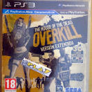 THE HOUSE OF THE DEAD OVERKILL VERSION EXTENDIDA 2 GAFAS 3D PAL ESPAÑA NUEVO PS3