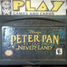 PETER PAN RETURN TO NEVER LAND SOLO CARTUCHO USA GAME BOY GAMEBOY ADVANCE GBA