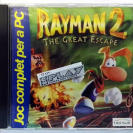 RAYMAN 2 II THE GREAT ESCAPE JUEGO EN CATALAN CATALA PC CD ROM MUY BUEN ESTADO