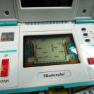 MAQUINITA SQUISH GAME & WATCH HANDHELD MUY BUEN ESTADO MG-61 1986 CLASSIC