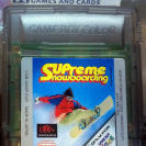 SUPREME SNOWBOARDING CARTUCHO GAME BOY GAMEBOY COLOR GBC ENVIO CERTIFICADO / 24H