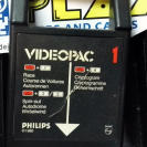 PHILIPS VIDEOPAC GAME 1980 1 RACE / SPIN OUT / CRYPTOGRAM