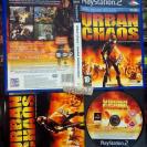 URBAN CHAOS UNIDAD ANTIDISTURBIOS PAL ESPAÑA MUY BUEN ESTADO PS2 PLAYSTATION 2