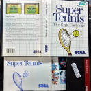 SUPER TENNIS PAL ESPAÑA COMPLETO MASTER SYSTEM ENVIO CERTIFICADO/ AGENCIA 24H