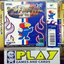 FRANCE WORLD CUP '98 1998 ROAD TO WIN + SPINE CARD NTSC JAPAN IMPORT SEGA SATURN