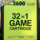 32 IN 1 GAME CARTRIDGE ATARI 2600 CARTUCHO ENVIO CORREO CERTIFICADO/AGENCIA24H