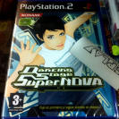 DANCING STAGE SUPER NOVA SUPERNOVA PS2 PAL ESPAÑA NUEVO PRECINTADO PLAYSTATION 2
