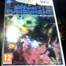 SIN AND PUNISHMENT WII PAL ESPAÑA NUEVO PRECINTADO NEW ENTREGA AGENCIA 24 HORAS