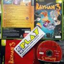 RAYMAN 3 HOODLUM HAVOC PAL ESPAÑA COMPLETO BUEN ESTADO MICROSOFT XBOX CLASSIC