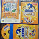 SEGA SUPERSTARS PAL ESPAÑA COMPLETO PS2 PLAYSTATION 2 ENVIO 24H SUPER STARS