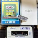 FRUIT MACHINE AMSOFT CINTA TAPE CASSETTE PAL ESPAÑA AMSTRAD ENVIO AGENCIA 24H