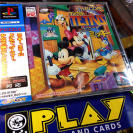 CAPCOM MAGICAL TETRIS CHALLENGE FEATURING MICKEY PSX PLAYSTATION JAP SPINE CARD