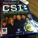 CSI LAS 3 TRES DIMENSIONES DEL ASESINATO PS2 PLAYSTATION 2 PAL ESPAÑA NUEVO NEW