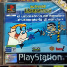 DEXTER'S LABORATORY EL LABORATORIO DE MANDARK PAL ESPAÑA NEW PSX PLAYSTATION PS1