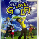 WE LOVE GOLF! PAL ESPAÑA NUEVO PRECINTADO FACTORY SEALED WII ENVIO AGENCIA 24H