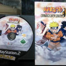 NARUTO ULTIMATE NINJA 1 PAL ESPAÑA DISCO + MANUAL PS2 SONY PLAYSTATION 2