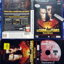 PANICO NUCLEAR The Sum of All Fears PAL ESPAÑA COMPLETO PS2 PLAYSTATION 2