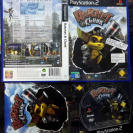 RATCHET & CLANK 1 PAL ESPAÑA COMPLETO BUEN ESTADO SONY PS2 PLAYSTATION 2