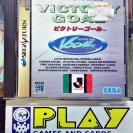 J LEAGUE VICTORY GOAL NTSC JAPAN IMPORT SEGA SATURN ENVIO CERTIFICADO / 24H