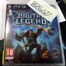 BRUTAL LEGEND PS3 PLAYSTATION 3 PAL ESPAÑA NUEVO PRECINTADO ENTREGA AGENCIA NEW