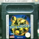 ASTEROIDS PAL ESPAÑA CARTUCHO GAME BOY GAMEBOY COLOR GBC ENVIO CERTIFICADO / 24H