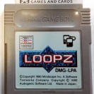 LOOPZ MINDSCAPE 1990 CARTUCHO JAPAN IMPORT GAME BOY GAMEBOY GB CLASSIC
