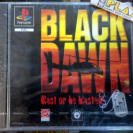 BLACK DAWN BLAST OR BE BLASTED PAL ESPAÑA NUEVO NEW PSX PLAYSTATION PSONE PS1