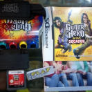 GUITAR HERO ON TOUR DECADES + GUITAR GRIP PAL ESPAÑA NINTENDO DS NDS ENVIO 24H