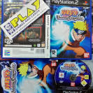 NARUTO UZUMAKI CHRONICLES PAL ESPAÑA COMPLETO SONY PS2 PLAYSTATION 2