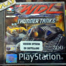 WDL THUNDER TANKS WORLD DESTRUCTION LEAGUE PAL ESPAÑA NUEVO PSX PLAYSTATION PS1