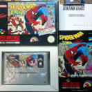 SPIDER-MAN X-MEN SPIDERMAN ARCADE'S REVENGE PAL ESPAÑA SNES SUPER NES NINTENDO