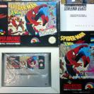 SPIDER-MAN X-MEN SPIDERMAN ARCADE'S REVENGE PAL ESPAÑA SNES SUPER NES NINTENDO