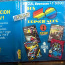 ARKANOID nightmare rally MOVIE phantomas SPECTRUM +3 DISK DISCO VERSION ESPAÑOLA