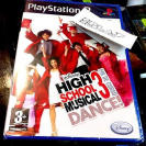HIGH SCHOOL MUSICAL 3 FIN DE CURSO DANCE PS2 PLAYSTATION 2 PAL ESPAÑA NUEVO NEW