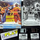 BEST OF THE BEST CHAMPIONSHIP KARATE PC PAL ESPAÑA CAJA CARTON DISKETTE COMPLETO