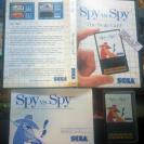 SPY VS SPY MASTER SYSTEM SEGA CARD COMPLETO EN BUEN ESTADO ENVIO AGENCIA 24H