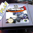 FORMULA 1 ONE F-1 F1  WORLD GRAND PRIX NINTENDO 64 N64 CARTUCHO ENTREGA 24 HORAS