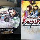 SAMURAI WARRIORS 2 II EMPIRES PAL ESPAÑA DISCO + MANUAL PS2 SONY PLAYSTATION 2