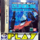 MOBILE SUIT GUNDAM SIDE STORY I 1 NTSC JAPAN SEGA SATURN ENVIO CERTIFICADO/ 24H