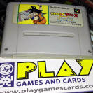 DRAGON BALL Z SUPER Saiya Densetsu SUPER FAMICOM NINTENDO NES SNES JAP