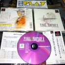 FINAL FANTASY 2 II PSX PLAYSTATION JAP COMO NUEVO ENTREGA 24 HORAS SPINE CARD