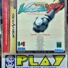 J LEAGUE VICTORY GOAL 97 NTSC JAPAN IMPORT SEGA SATURN ENVIO CERTIFICADO / 24H