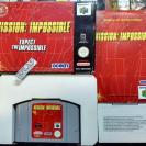 MISSION IMPOSSIBLE PAL ESPAÑA COMPLETO MUY BUEN ESTADO NINTENDO 64 N64 ENVIO 24H