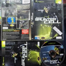 Tom Clancy's Splinter Cell 1 PAL ESPAÑA COMPLETO MICROSOFT XBOX CLASSIC