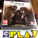 THE DARKNESS II 2 PS3 PLAYSTATION 3 PAL ESPAÑA NUEVO PRECINTADO NEW SEALED