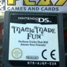 MAGIC MADE FUN MAGIA EN ACCION NDS  NINTENDO DS CARTUCHO PAL ENVIO CERTIFICADO