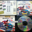 WORLD CUP USA 94 1994 PAL ESPAÑA COMPLETO EN BUEN ESTADO SEGA MEGA CD ENVIO 24H