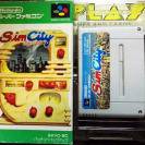 SIMCITY SIM CITY NTSC JAPAN IMPORT SNES SUPER NES NINTENDO FAMICOM
