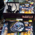 TOM CLANCY'S RAINBOW SIX 3 + CASCO ED LIMITADA PAL ESPAÑA XBOX ENVIO 24 HORAS